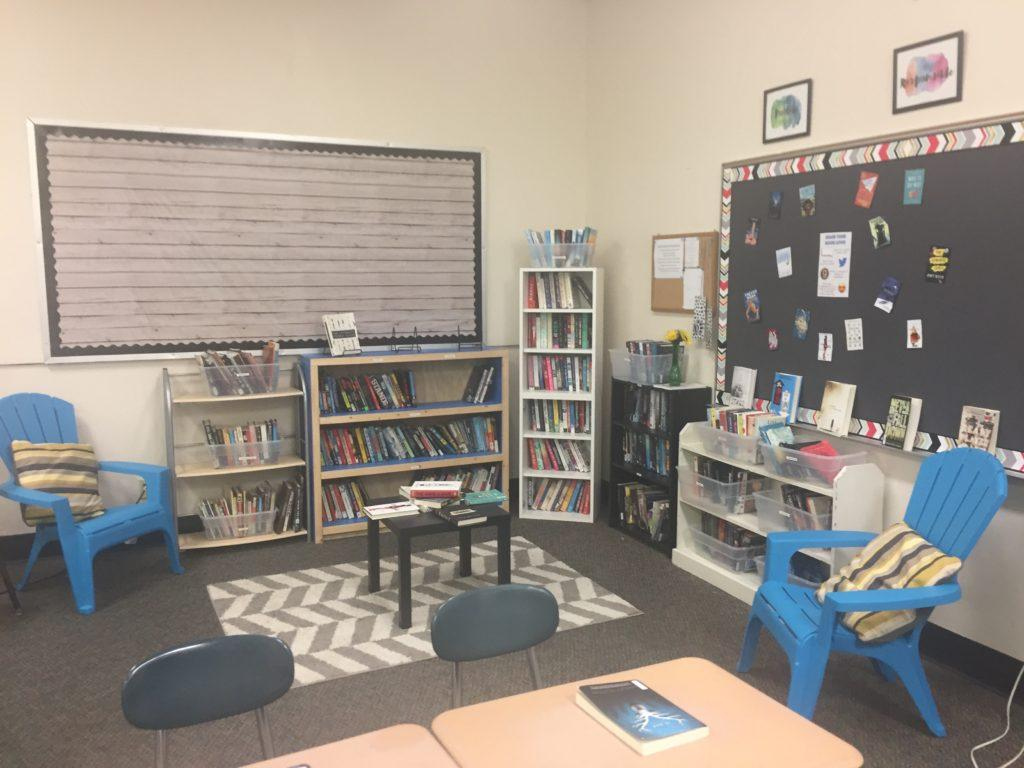Lauren Petri's classroom library