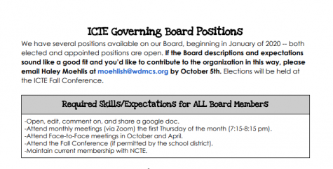 Join the ICTE Executive Board!