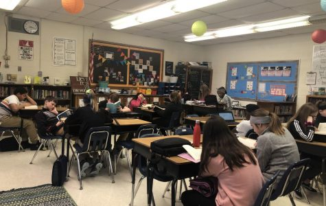 Students at Bunger Middle School embraced the story of Timothy in