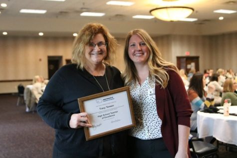 Tensen Named NCTE Teacher of Excellence